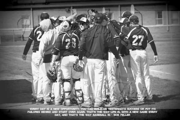 2013 GOREVILLE HIGH SCHOOL  BASEBALL 2013
