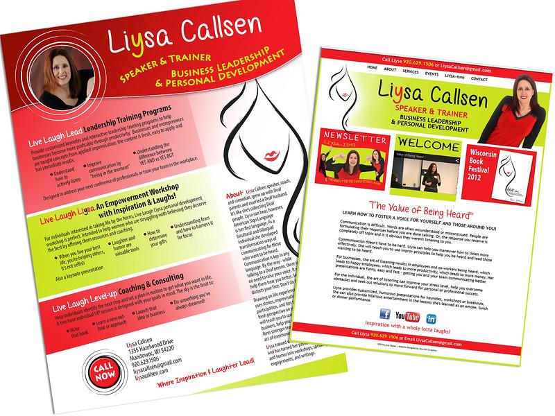 Website & Promo Flyer