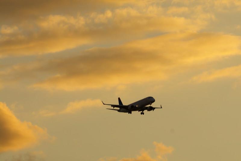 Plane's Final Approach