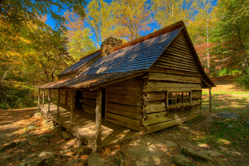 Roaring Fork Motor Nature Trail at Great Smoky Mountains Nationa