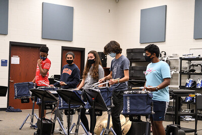 Percussion Rehearsal, Oct 19, 2020