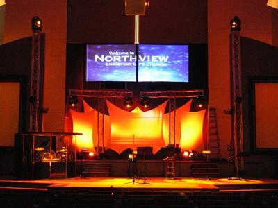 2007-08-15 - Auditorium Preparation