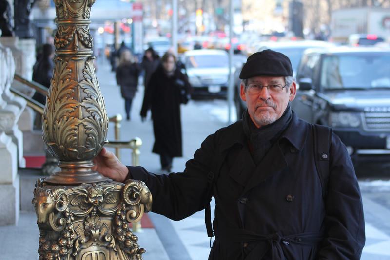 Ed on the street in NY