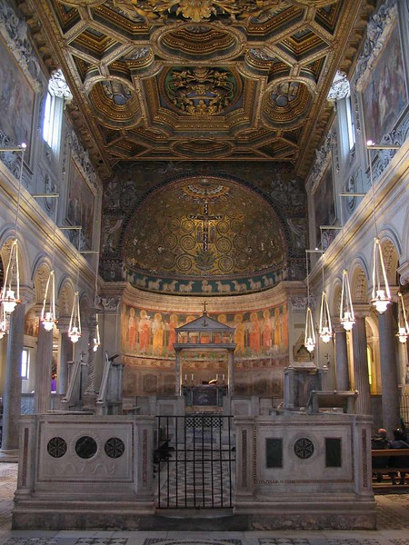 12th Century Church - Basilica San Clemente