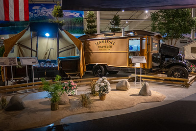 1916 Cozy Camp Tent Trailer and 1931 Tennessee Traveler Housecar