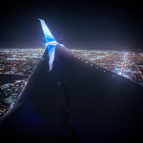 The Journey There - Leaving LA Hells Airport!