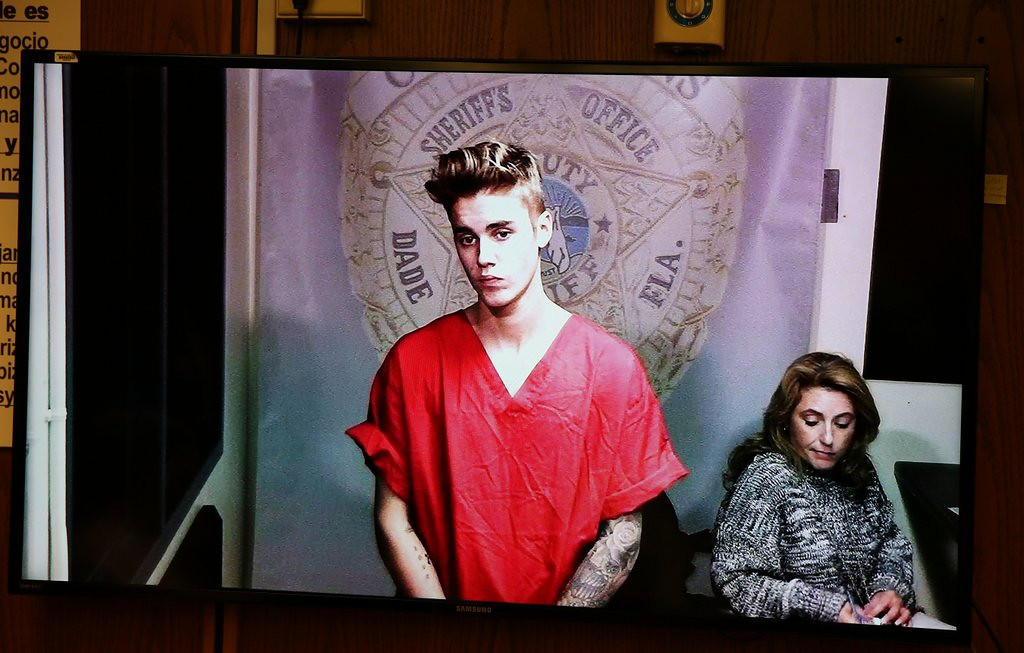 """. <p>4. (tie) JUSTIN BIEBER <p>All of the jail videos have leaked, except the ones where he leaked. (unranked) <p><b><a href=\'http://www.mirror.co.uk/3am/celebrity-news/justin-bieber-jail-video-released-3187155\' target=\""""_blank\""""> HUH?</a></b> <p>    (AP Photo/The Miami Herald, Walter Michot, File)"""
