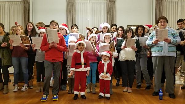 Community Life - Community Christmas Caroling - December 20, 2017
