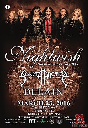Nightwish North American Tour 2016