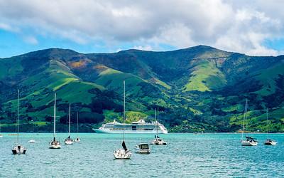 Akaroa, New Zealand, November 14, 2011