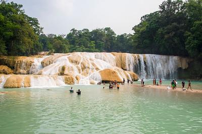 Chiapas waterfalls