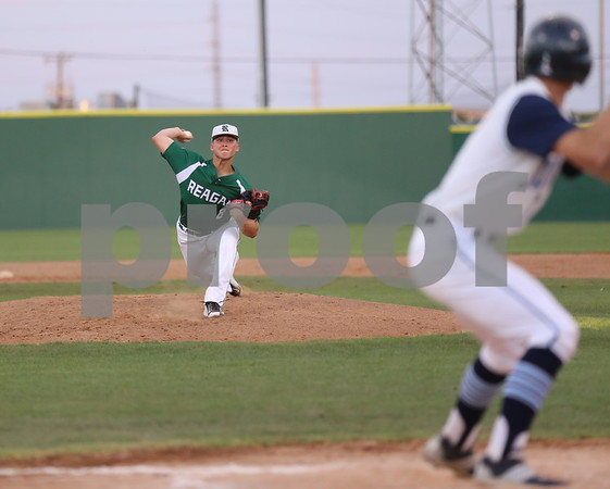Reagan vs Johnson Varsity Baseball 4-13-15