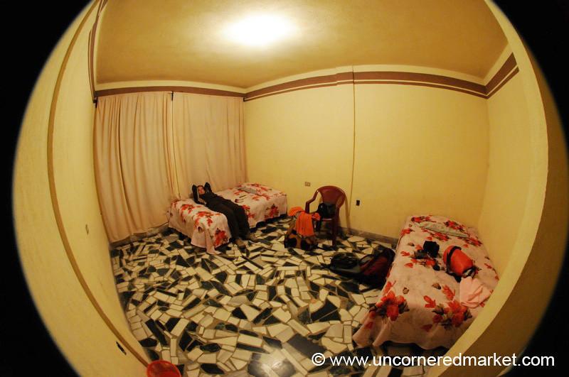 Hotel Room in San Francisco El Alto, Guatemala