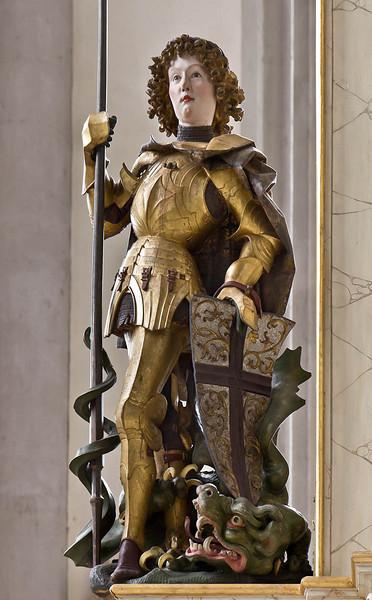 Nördlingen. St. Georg: Hochaltar, St. Georg