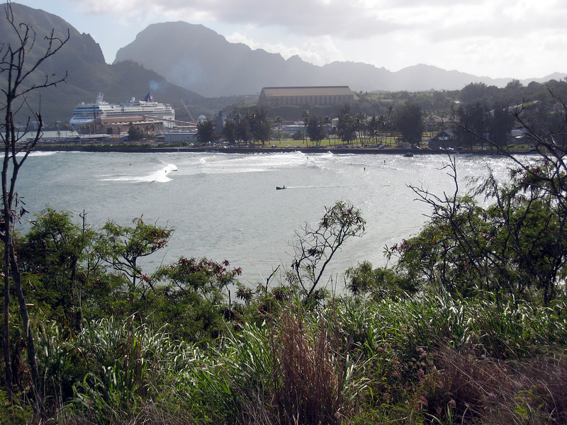 Docked in Nawiliwili, Kauai
