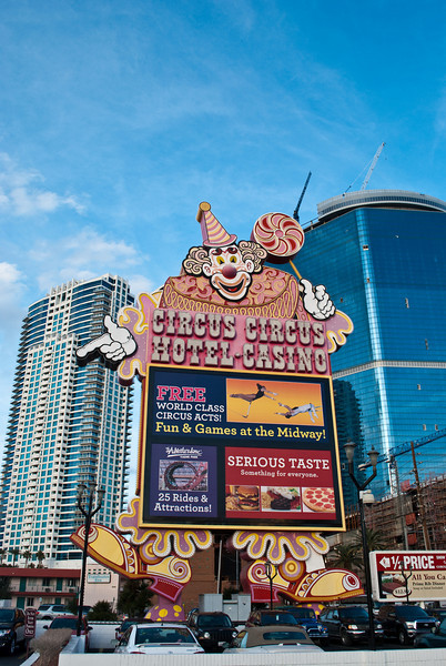 The Circus Circus Clown. This casino makes me shudder.