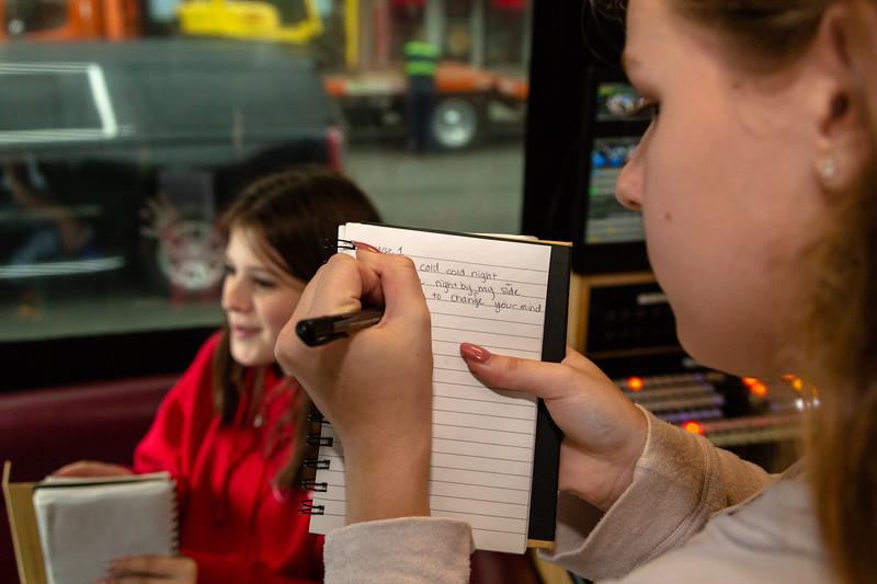 2018_10_09, Baby Brasa, Bus, Interior, New York, NY