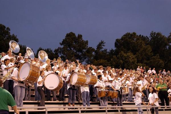 2004-09-10: Pep Band (Cary @ Garner)
