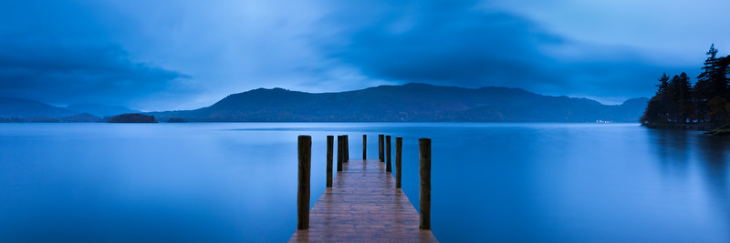 Dawn on Derwent Water