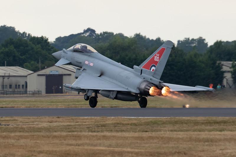 British Typhoon Demo Plane