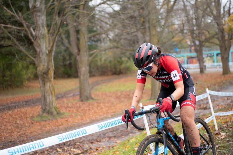 Kaitlyn Shikaze (ON) Cyclepath Oakville Race Team - 4th Place U23 Women