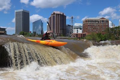 4/18/2020 - Kayaking