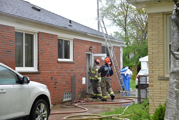 Dearborn Heights - Virgil street - House fire