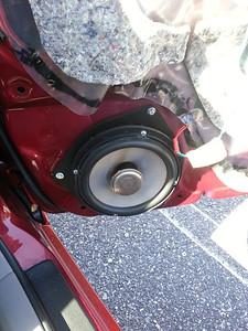 2008 Toyota corolla CE Front Speaker Installation - USA