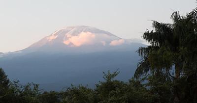 Mt Kilimanjaro 19,350 ft.