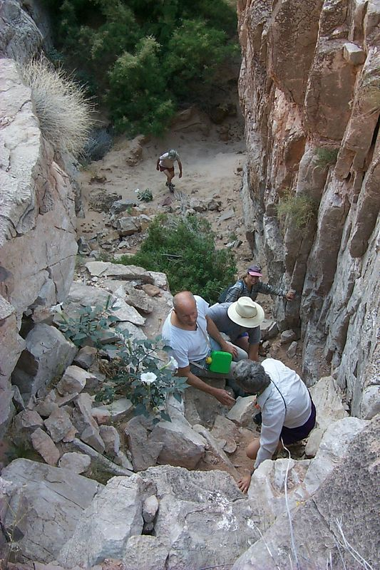 Climbing South Canyon   (May 28, 1999, 08:37am)