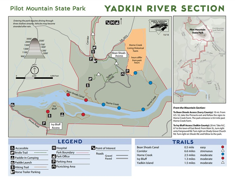 Pilot Mountain State Park (Yadkin River Section)