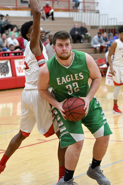 Hokes Bluff Varsity Boys v. Saks, February 14, 2017