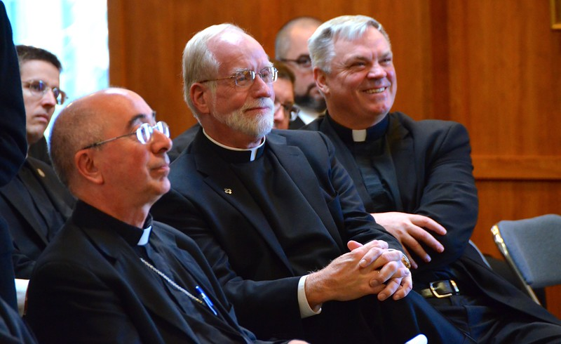 Bishop Schuerman, Fr. Kilianski and Fr. Morawiec