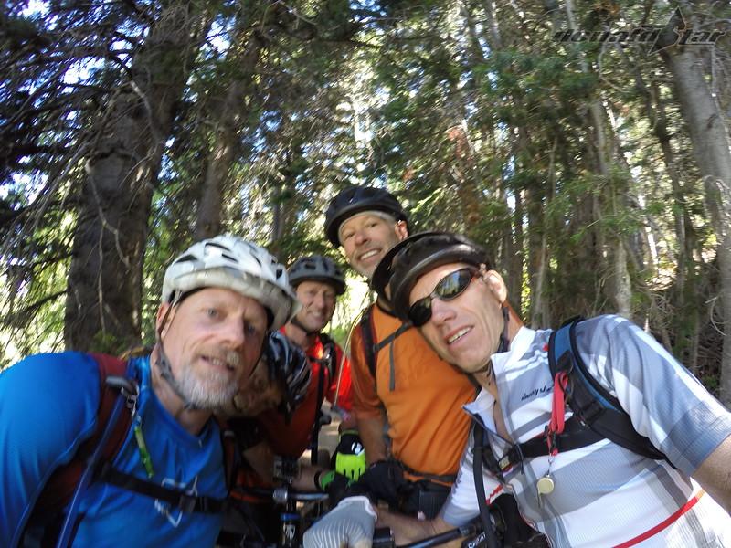 Heding down Pine Comb Trail