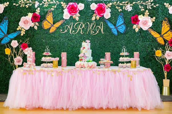 Arwa 1st Birthday