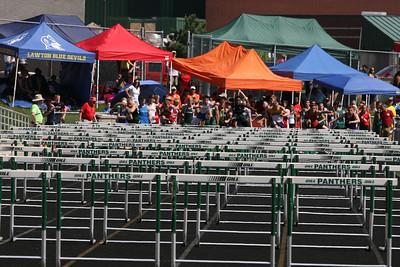 D3 Boys' and Girls' High Hurdle Prelims - 2014 MHSAA LP T&F Finals