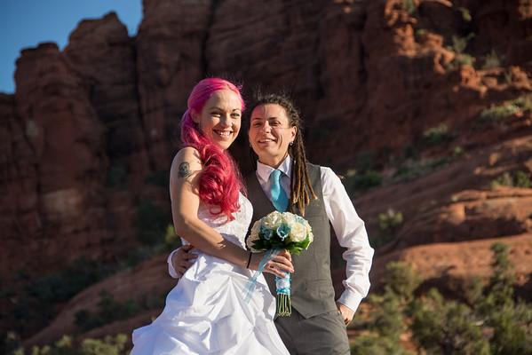 Kalyn & Georgia Wedding Portrait Session