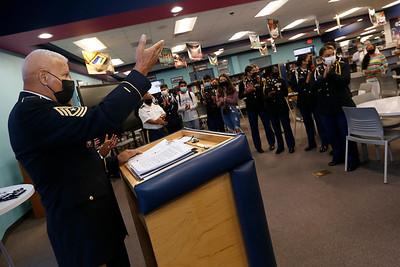 2021 EPISD JROTC Brigade Selection Board at Chapin High