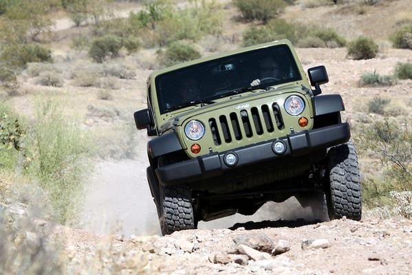 June 2014: 4 Wheeling Tonto National ( Darren's new tires)