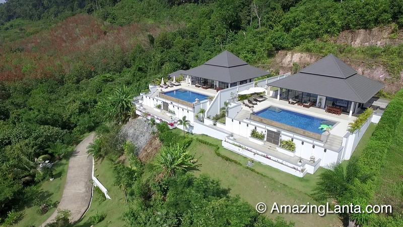 Kulraya Villa Aerial View