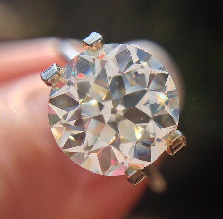 2.54ct Old European Cut Diamond GIA J VS2 OEC