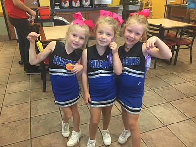 Sharon Spring Cheer - K-1 -  2017