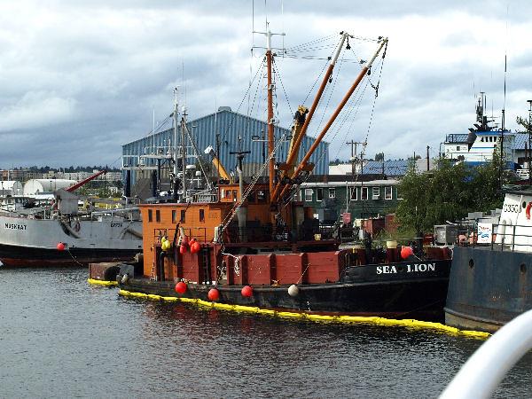 2008 0829: Seattle Harbor Cruise