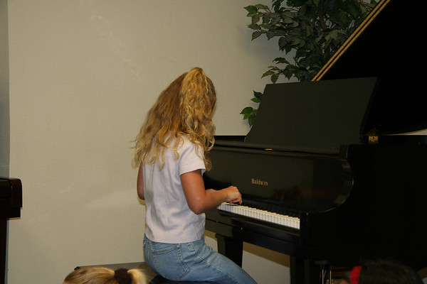 Piano Recital - May 21, 2006
