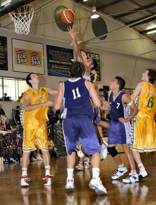 Youth Olympics-Syd 2005 Australia Vs Oceania Men