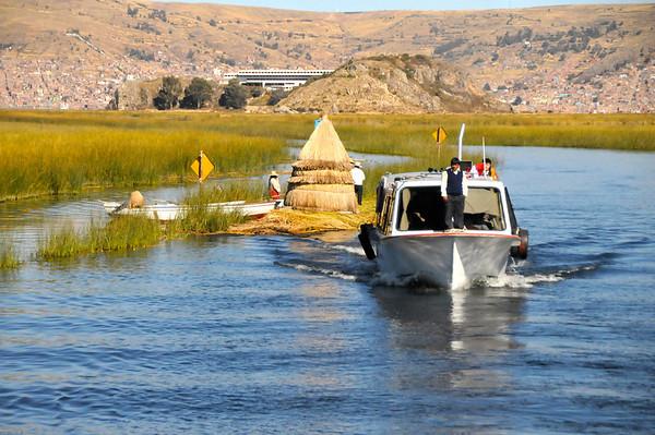 Floating Uros City