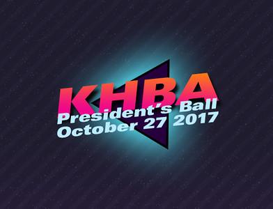 KHBA President's Ball 2017
