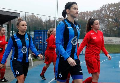 20181124 - Woluwe - Club Brugge Vrouwen