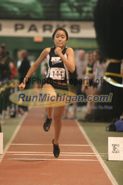 Girl's Triple Jump - 2012 MITS Finals