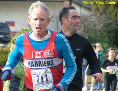 2004 Mill Bay 10K - Rob Grant won the M55 age group again